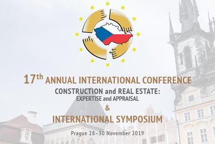 17th Annual International Conference: Construction And Real Estate: Expertise And Appraisal